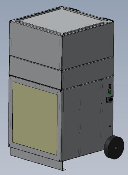 HYGREX CLEANAIR LR1500 - Mobiler Raumluftreiniger